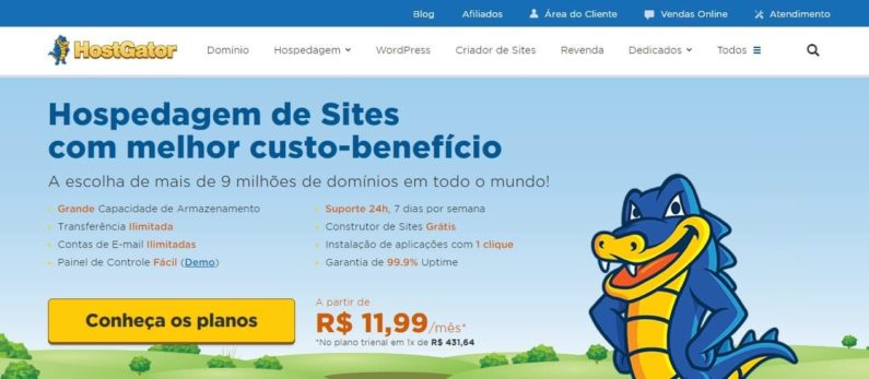 HostGator – Review do Criador de Sites