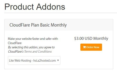 A2 Hosting Cloudflare
