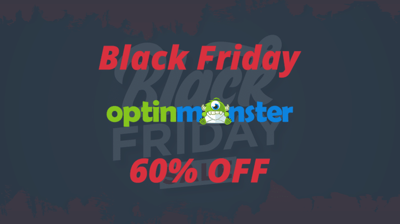 Black Friday OptinMonster 2020 | 60% OFF | Marketing Para Site