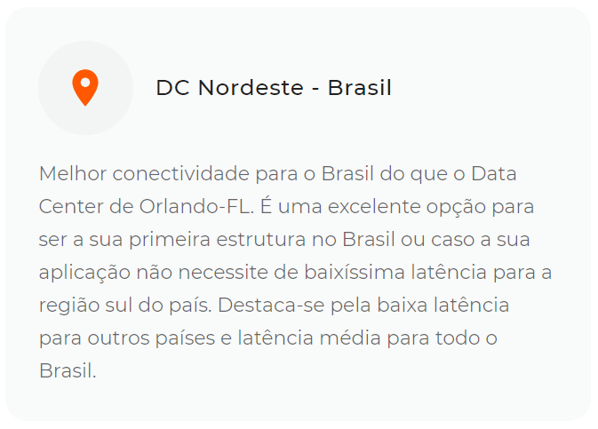 Por que escolher data center do nordeste da HostDime
