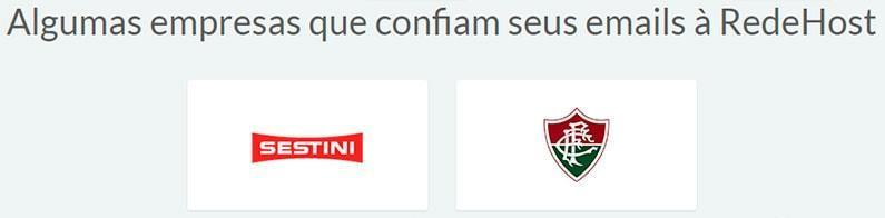 Clientes do E-mail Exchange da RedeHost